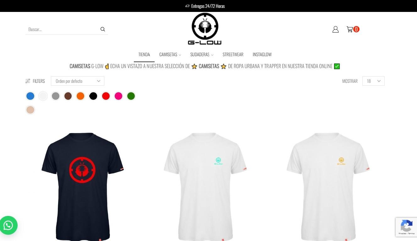 g-low tienda online