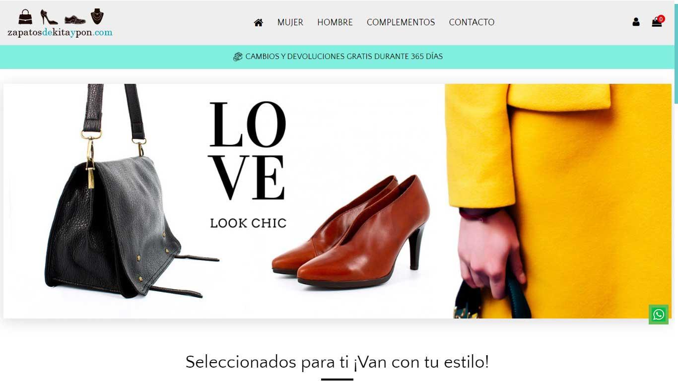 Zapatos de Kita y Pon