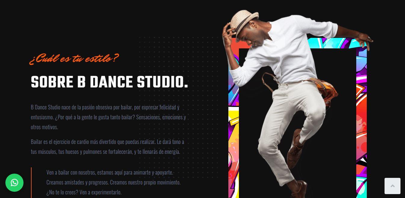 Bailame Dance Studio Profesores